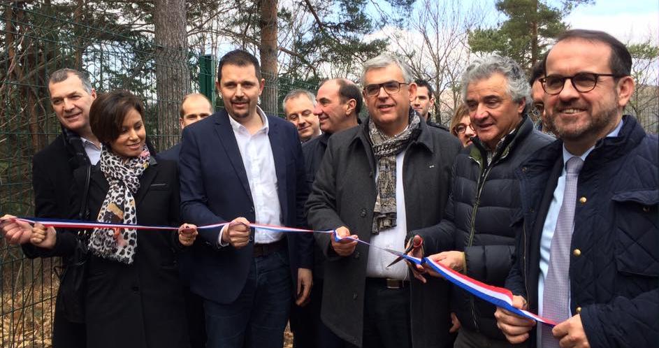 Inauguration du site d'accès à l'Internet mobile de Marcols-les-Eaux