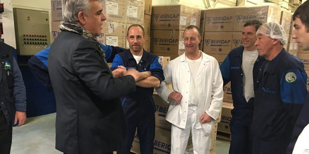 Visite du site des eaux d'Arcens : le génie industriel des Boutières !